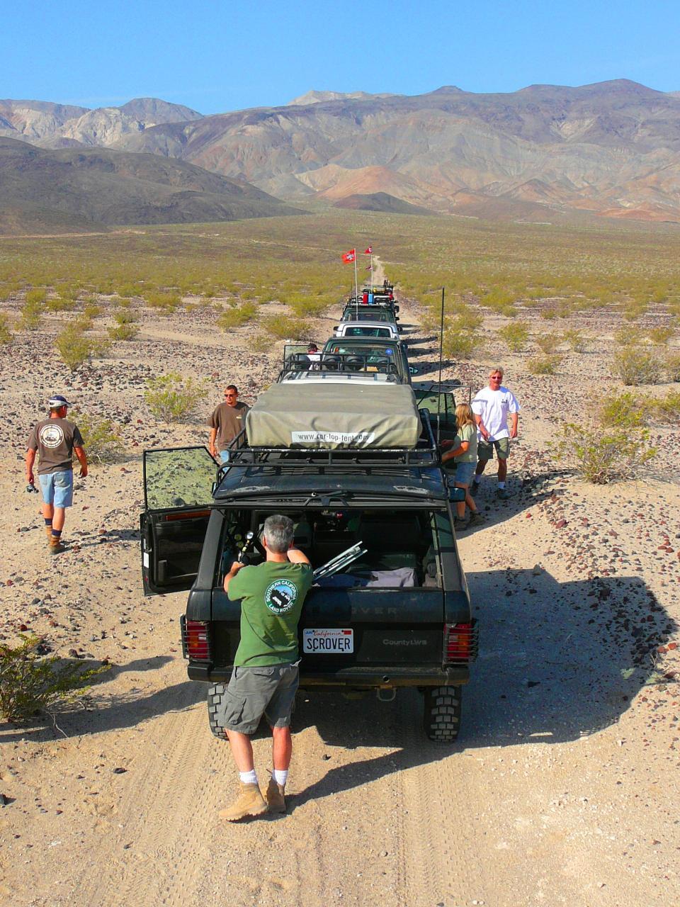Valley Defense Mine Trail April